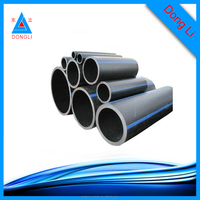Non-toxic polyethylene pipe / HDPE pipe for water supply and drainage