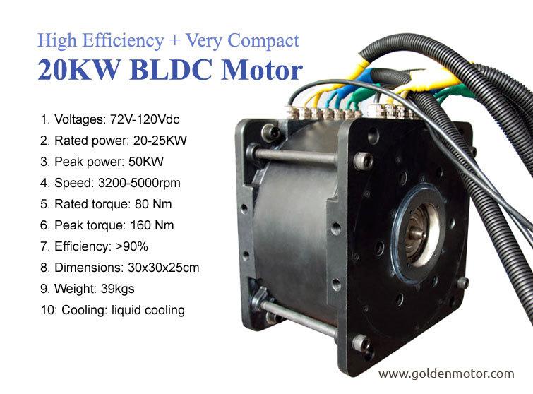 24v 36v 48v 96v 120v 20kw 2000 6000rpm Dc Motor