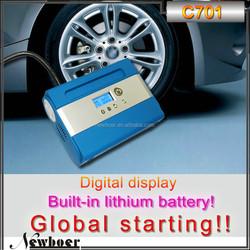 Hot selling portable air pump tire inflator 12v car air compressor