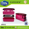 airtight 2014 new design plastic large lock plastic lunch box made in China