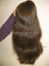 2015 Christmas Hot Selling ! Wholesale Large Stock Unprocessed Virgin Brazilian Hair Half Wig