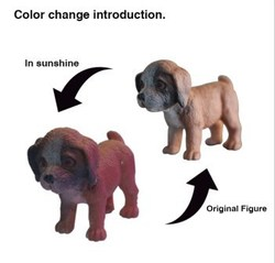 cheap OEM novelty toy , plastic collection puppy
