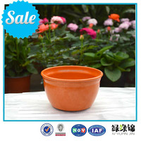 natural plant fiber/Eco-Friendly flower pots/Unbreakable bamboo fiber flower pot