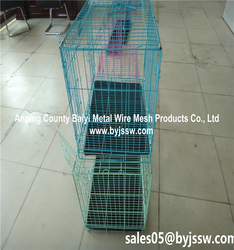 XL ,XXL Dog Crate ,Metal Dog Cage , Wire Mesh Fencing Dog Kennel