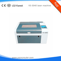 paper animaux and flowers cutting machine 5040 lase engraving machine for marble 0504