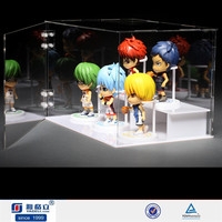 16 year high experience quality acrylic toy box display/lego acrylic minifigure display case