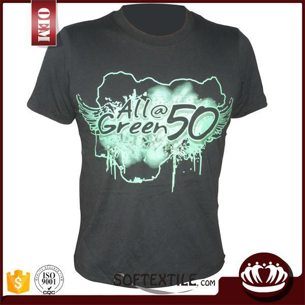 custom silk screen printing t shirt factory cotton bulk