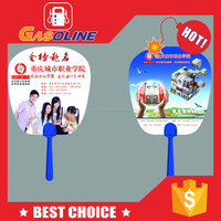 Wholesale customized promotional plastic hand fan