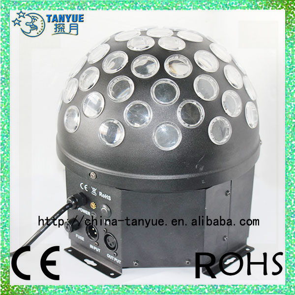 Disko sahne led rgb kristal sihirli, etkisi nokta ışık topu