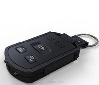 2015 NEW mini Keychain hidden security Camera,hd 1080P camera car key hidden camera Covert Video recorder 2pcs/lot free shipping