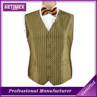 Silk Woven Fashion Man Waistcoat/Vest OEM available /Silk Waistcoat