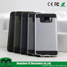 TPU PC cell phone case for samsung galaxy note 5 dual layer case