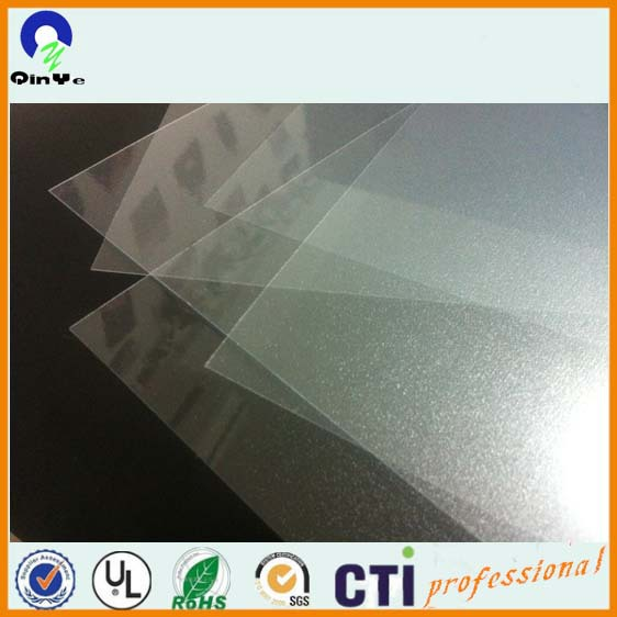 Hard Pvc Material Transparency Frost Sheet Clear Embossed