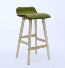 popular leather and fabric bar stools