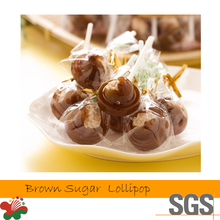 Taiwan Manufacturer Brown Sugar Added Sour Plum Lollipop Candy