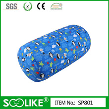 seas and oceans blue pattern microbeads pillow