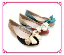 Plastic flat pump shoes wholesale lat shoes supplier fashion shoes wholesale made in China