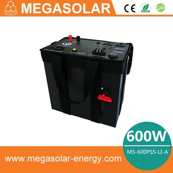 Emergency High Power Industrial Solar Power System Portable Solar Generator