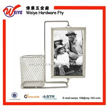 Rotating Photo Frames With Pen Holder For 2 Piece Photo Large size