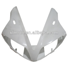 For YAMAHA YZF R1 YZF-R1 2002 2003 R 1 Wholesale ABS Unpainted Upper Front Fairing