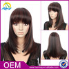 Short synthetic hair wig