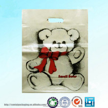 Heat Sealing Hdpe&Ldpe Plastic Poly Gift Warpping Bags/Handle Shopping Plastic Bag/Garment PE Poly Packing Bag