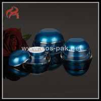 Empty High end cosmetic acrylic octagonal plastic containers