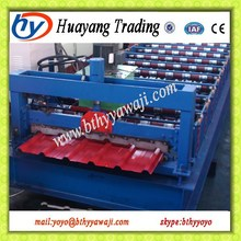 1000 trapezoidal roof cold forming machines for beautiful roof surface, waterproof