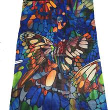 digital printed polyester chiffon fabric