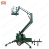 towable boom lift for sale / arm ift platform/ single person lift for street light