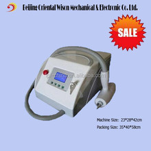 1064nm skin whitening Q-Switch ND: YAG Laser Tattoo Removal Beauty Machine