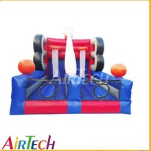 Popular inflatable basketball court for competitive games