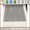 2015 new product white striped gauze fabric for decoration curtain sheer fabric