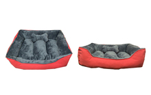 Square dog sleeping bed memory foam pet bed