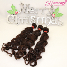 Homeage wholesale loose wave hair weave hight quality brazilian hair weave