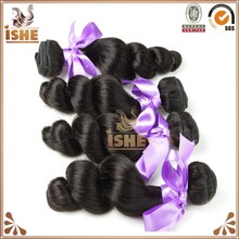 Hot new products for 2015 brazilian hair new design brazilian loose deep wave hair weave