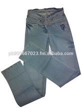 damas pantalones vaqueros pantalones