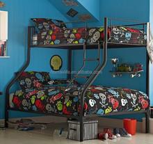Bedroom furniture metal / steel triple bed BD-1806