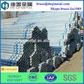 la fabricación de tubos de acero galvanizado