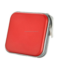 Portable 40 Capacity Luxury VCD Disc Case CD DVD Storage Bag