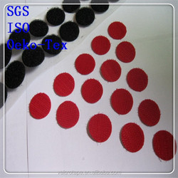Adhesive magic tape color velcro dots