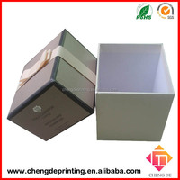 high-end waterproof cardboard candle packaging box