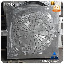 Square concrete water tank manhole cover