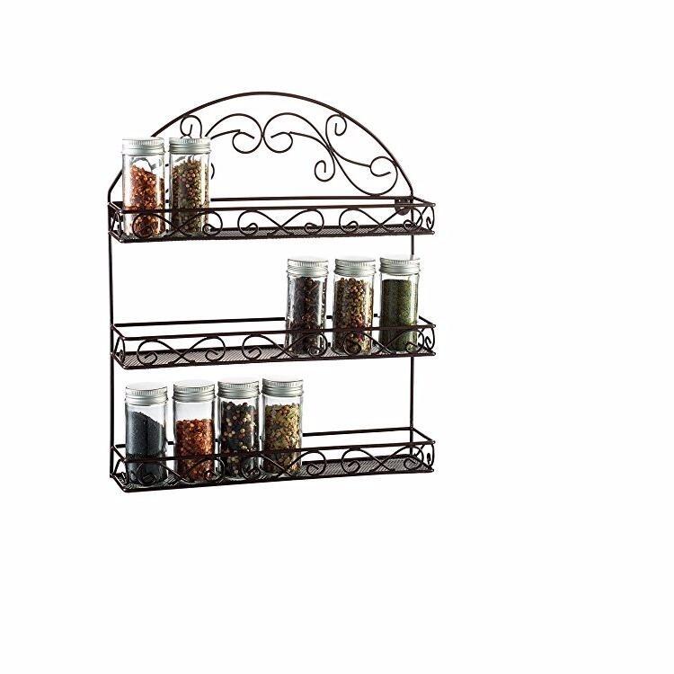 keukenkast plank opslag muur organisatie 5 tier kruidenrek opslag houders en rekken product id