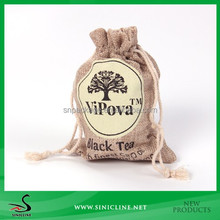 Sinicline Promotional Hemp Drawstring Gift Bag