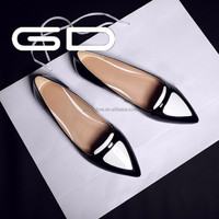 hot sale new type black women shoes with rubber outsole