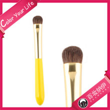 Candy Series Lemon Pie Private Label Best Sell Pure Pony Hair Eye Shadow Brush