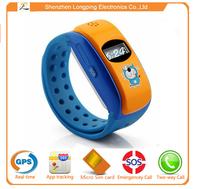 Custom promotional silicone smart kid watch/promotional watch silicone