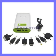 Mobile Phone 5V Power Source 6600mah External Bank for Huawei P7 P8