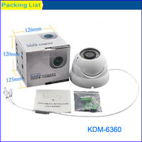 Modern CCTV Camera 30M IR 600 tv line high resolution dome camera with 4-9mm varifocal lens,Kadymay&OEM